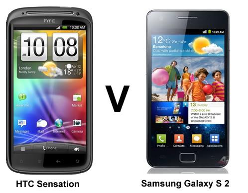 Glaxy S2とHTC Sensationどちらが凄いか(Super smartphone
